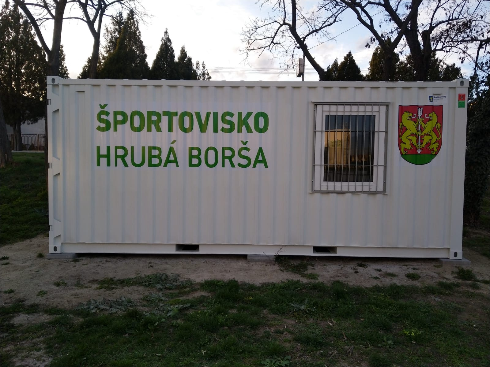 Polep_-_Športovisko_Hrubá_Borša