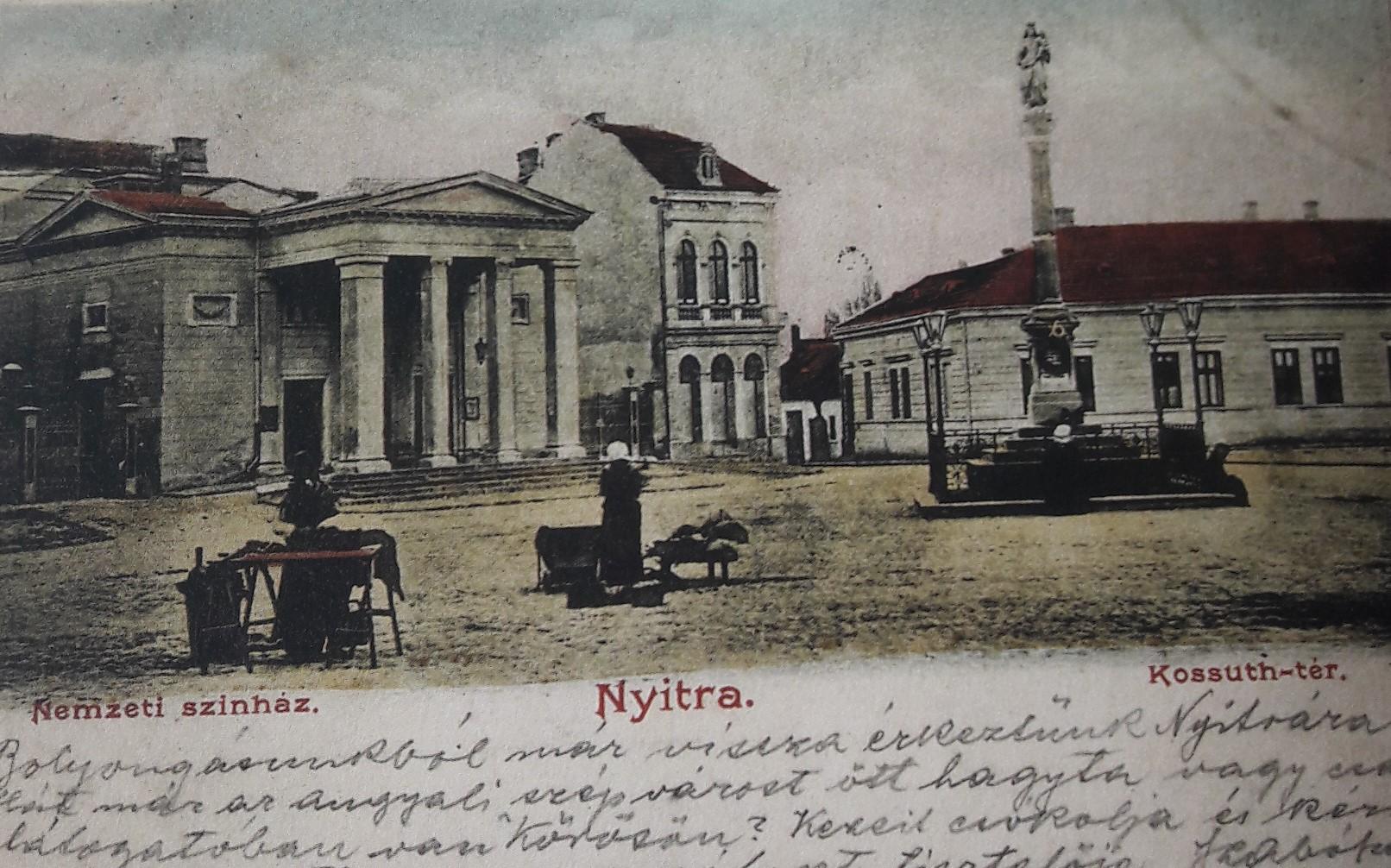 Svätoplukovo_námestie_okolo_roku_1900
