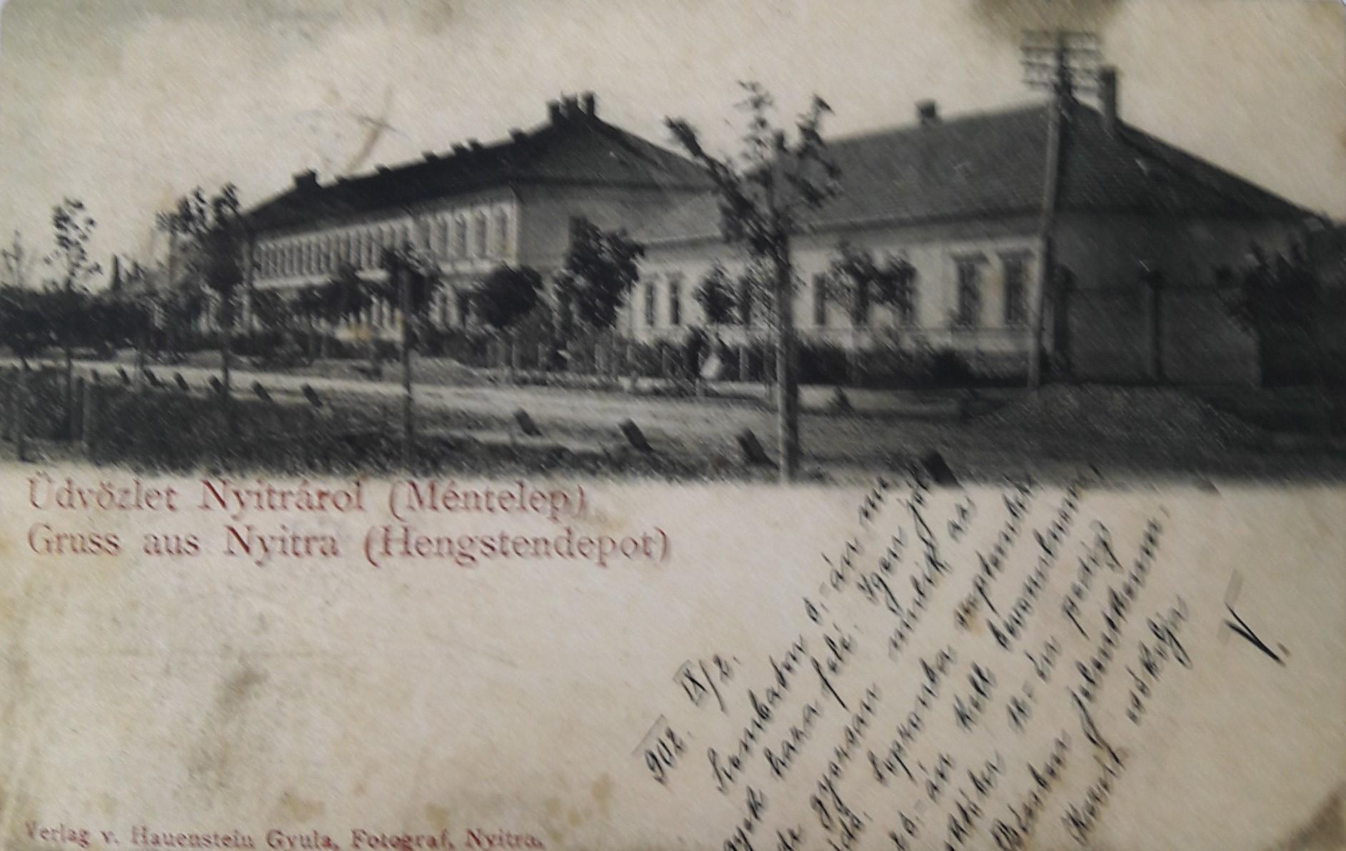 Vojenský_žrebčín_v_roku_1902