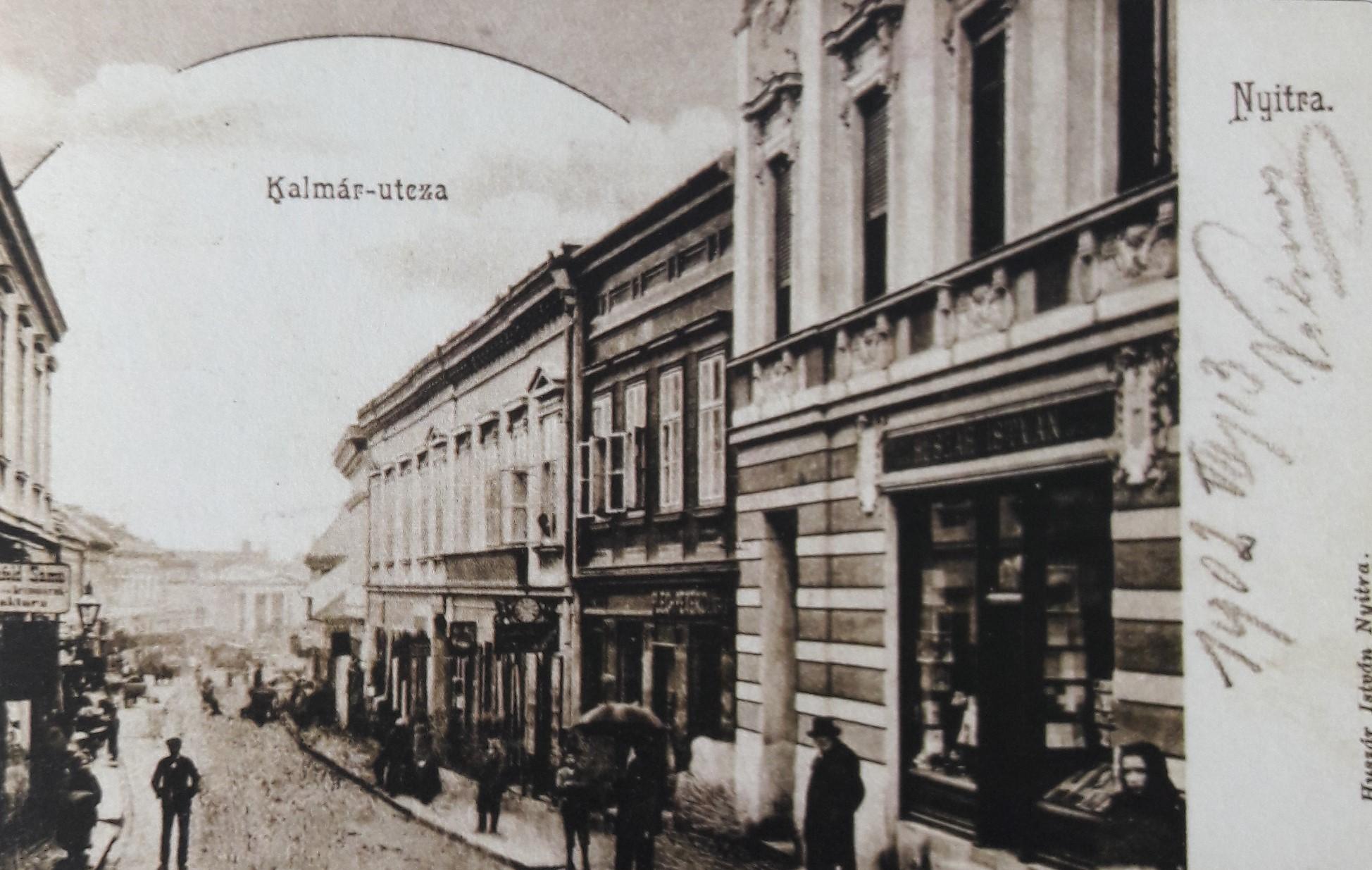 Kupecká_ulica_okolo_roku_1902