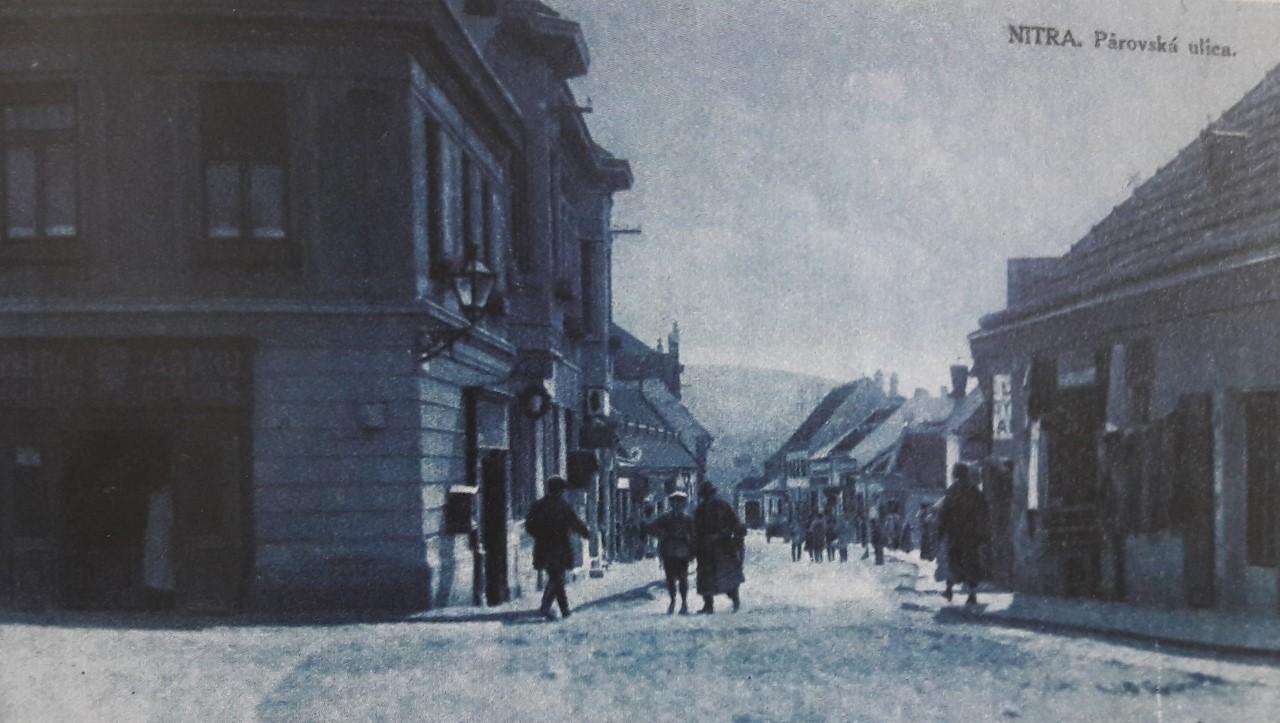 Párovská_ulica_okolo_roku_1926