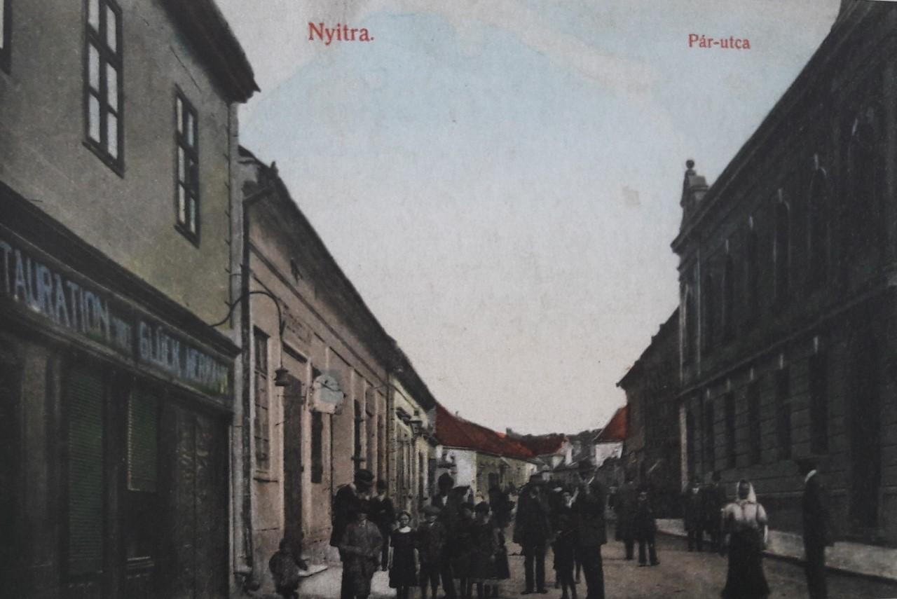 Párovská_ulica_v_roku_1913