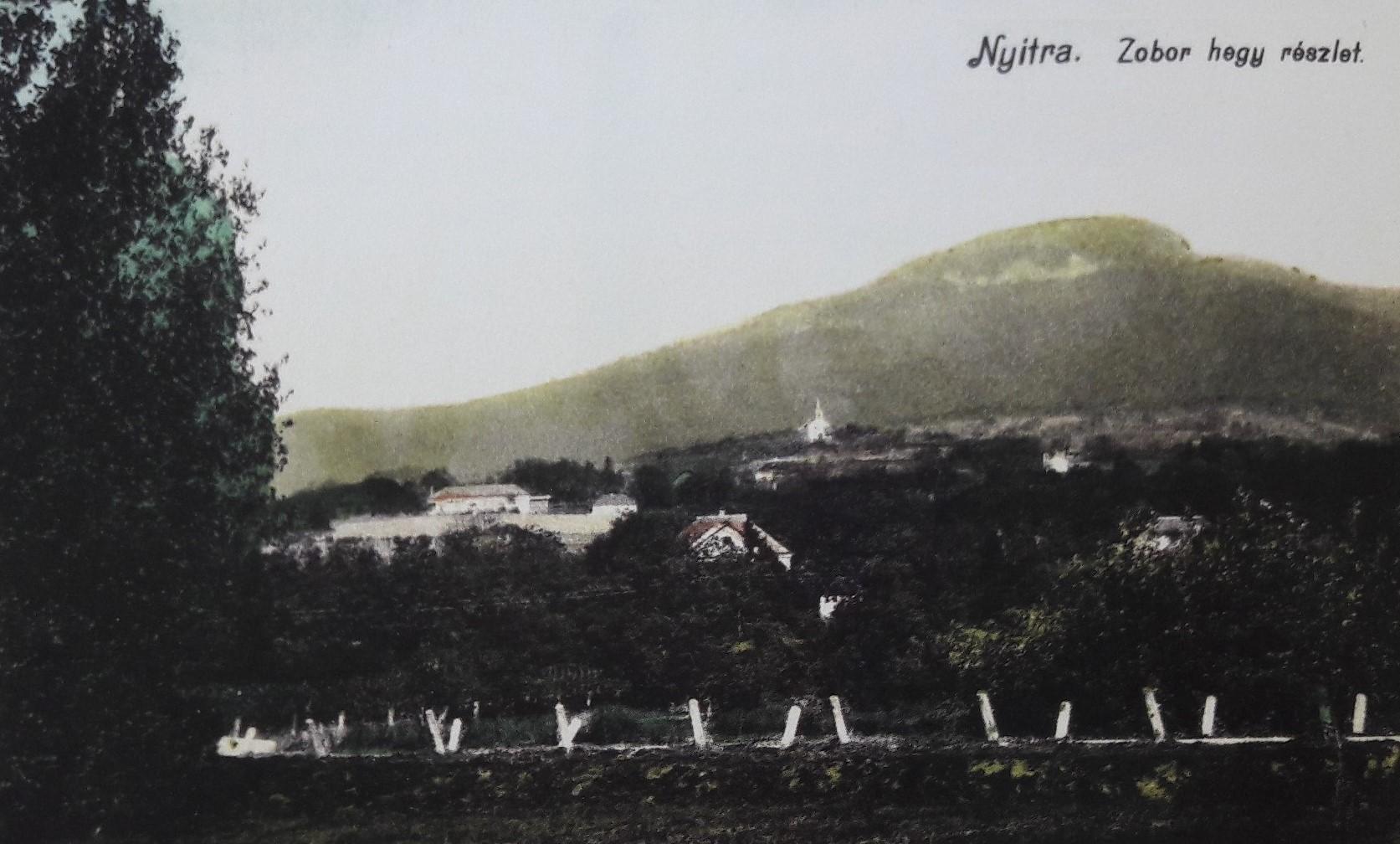 iastočný_pohľad_na_Zobor_okolo_roku_1915