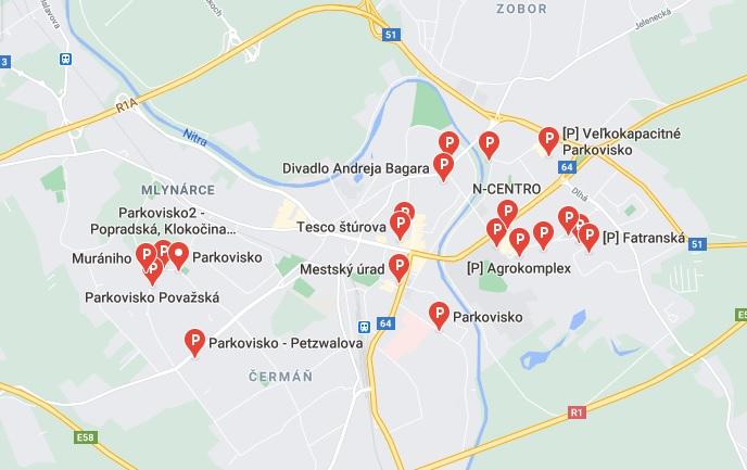 parkoviská_nitra